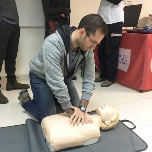 Tel Aviv Doctor CPR Course
